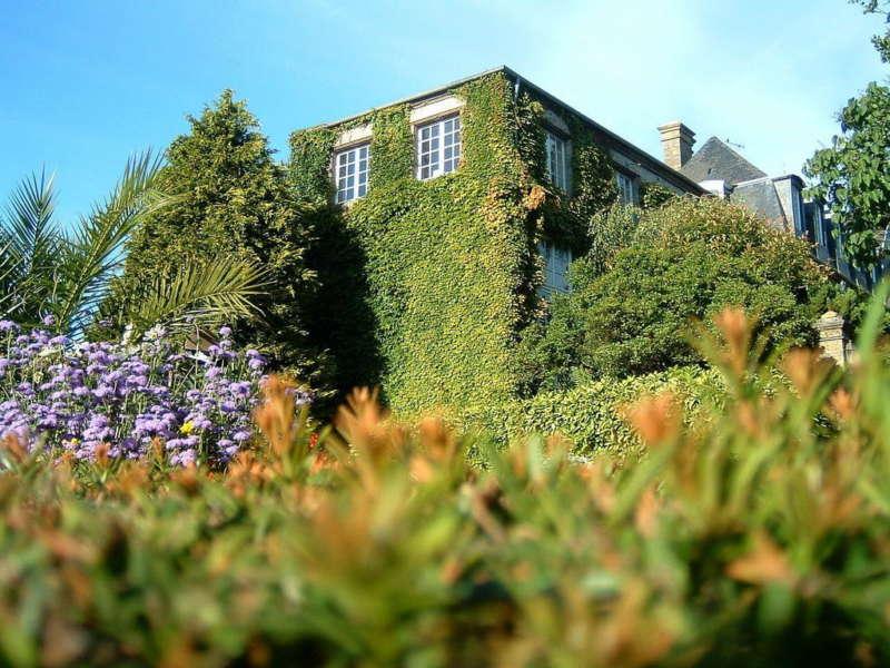 дом с листвой