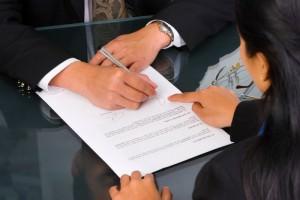 Заполнение необходимых документов