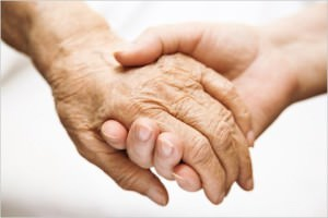 Сплетенные вместе руки