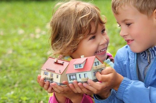 Договор дарения долей квартиры несовершеннолетним детям