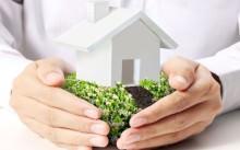 Земля с домом в руках