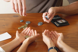 Передача монеток